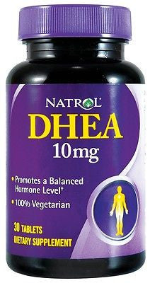 Natrol DHEA 10mg Balance Hormones ENERGY Well Being - 30 tablets