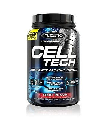 MuscleTech CELL TECH Performance Series Creatine - 3 lbs - PICK FLAVOR