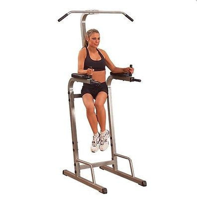 Body Solid Best Fitness VERTICAL KNEE RAISE Pullup Dip VKR Power Tower BFVK10