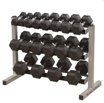 Body Solid 3 TIER DUMBBELL RACK 40 Inch GDR363