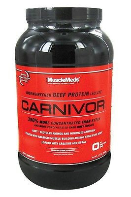 MuscleMeds Carnivor Beef Protein Isolate 2 lbs ALL FLAVORS