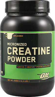 Optimum Nutrition MICRONIZED CREATINE POWDER Unflavored 2000 Grams 400 Servings