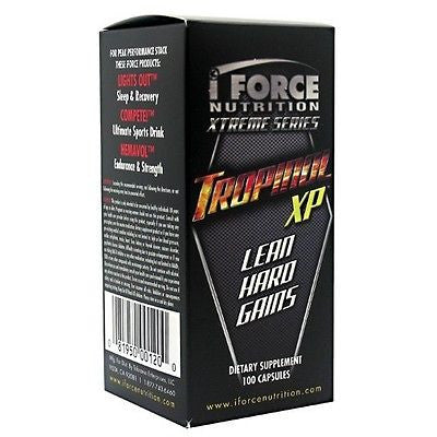 iForce TROPINOL XP Testosterone Booster 100 caps - 200 X Stronger Than Tribulus