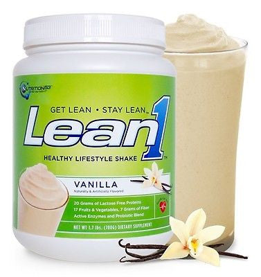 Nutrition53 LEAN1 Protein BUILD MUSCLE LOSE FAT 1.7 lbs 15 Servings PICK FLAVOR