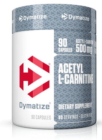 Dymatize ACETYL L-CARNITINE Burn Fat, Boost Immunity, Lower Cholesterol 90 caps