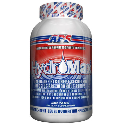 APS Nutrition HydroMax for Massive Pre-Workout Pumps 180 tabs