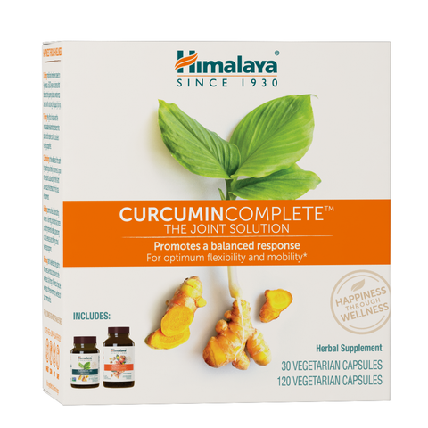Himalaya USA Herbal CURCUMIN COMPLETE Joint Care, 150 vcaps TURMERIC, BOSWELLIA
