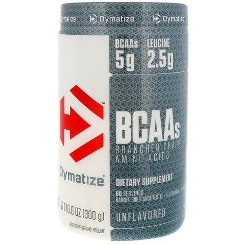 Dymatize BCAA Complex 5050 Branched Chain Amino Acids - 30 Servings UNFLAVORED