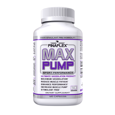 Finaflex MAX PUMP 120 capsules Betaine Nitrate NO3 Get Pumped BUILD MUSCLE