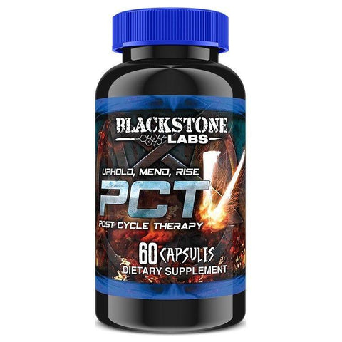 BlackStone Labs PCT V Post Cycle Therapy 60 Cap Lean Muscle Builder Testosterone