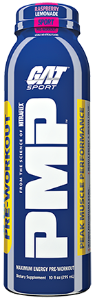 GAT PMP RTD Pre-Workout Drinks - 12 Bottles