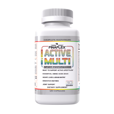 Finaflex ACTIVE MULTI Muscle Vitamins 120 caps Multivitamin
