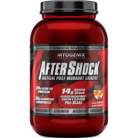 Myogenix AFTER SHOCK Post-Workout Euphoria BUILD MUSCLE - RECOVER FAST  2.64 lbs