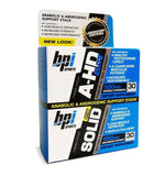 BPI Sports A-HD ELITE & SOLID Combo - 30 capsules per bottle  BUILD LEAN MUSCLE