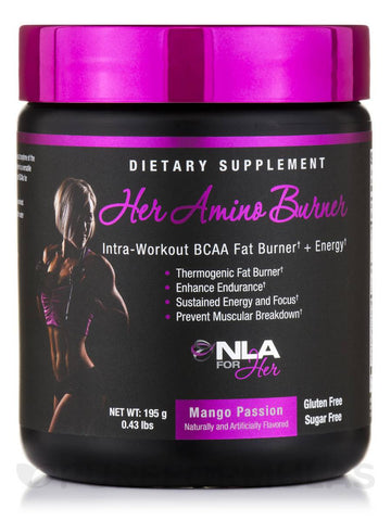 NLA for Her Amino Burner BCAA Fat Burner + Energy 30 Servings