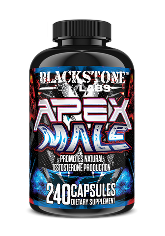 BlackStone Labs APEX MALE Testosterone Booster BUILD MUSCLE - 240 capsules PCT