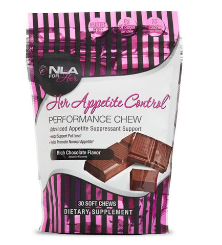 NLA For Her - HER APPETITE CONTROL Performance Chew - Weight Fat Loss 30 Chews