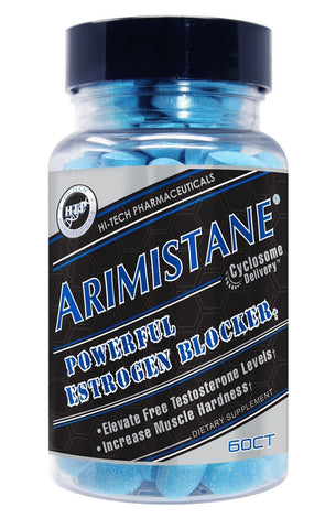 Hi-Tech ARIMISTANE Estrogen Blocker Testosterone Booster 60 tabs MUSCLE HARDNESS