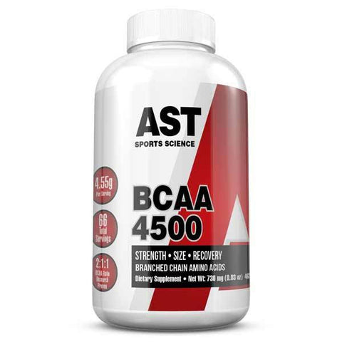 AST BCAA 4500 Amino Acid Muscle Recovery & Endurance 462 capsules