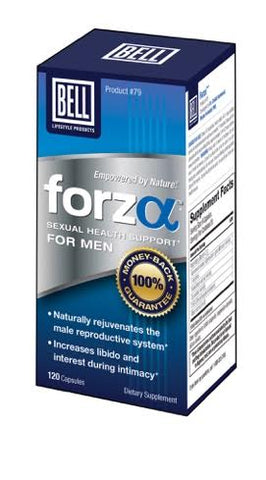 Bell FORZA Testosterone Sex Libido MALE ENHANCEMENT PENIS PILL 120 capsules