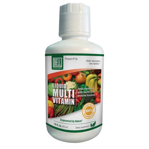 Bell LIQUID MULTI-VITAMIN High Potency Health Immune Boost 16 oz - 32 DAY SUPPLY