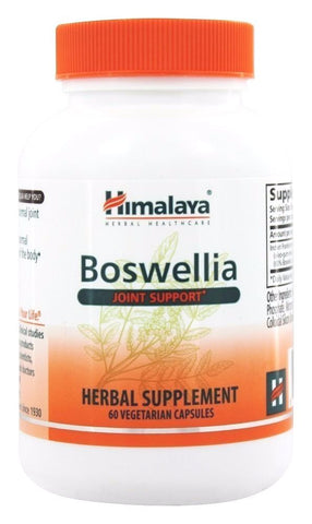 Himalaya Herbal Healthcare BOSWELLIA Joint Support - 60 capsules FRANKINCENSE