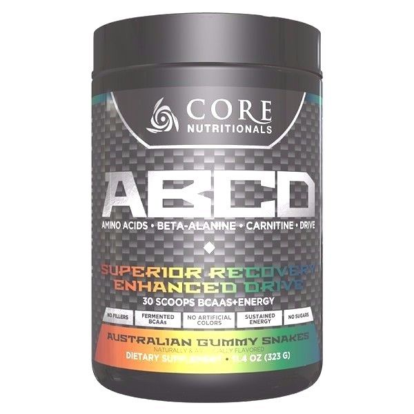 Core Nutritionals CORE ABCD Aminos, BCAAs - 30 Servings (323g) , PICK FLAVOR