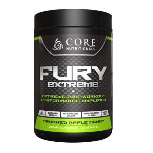 Core Nutritionals FURY EXTREME Pre-Workout Energy Focus, 28 Servings PICK FLAVOR