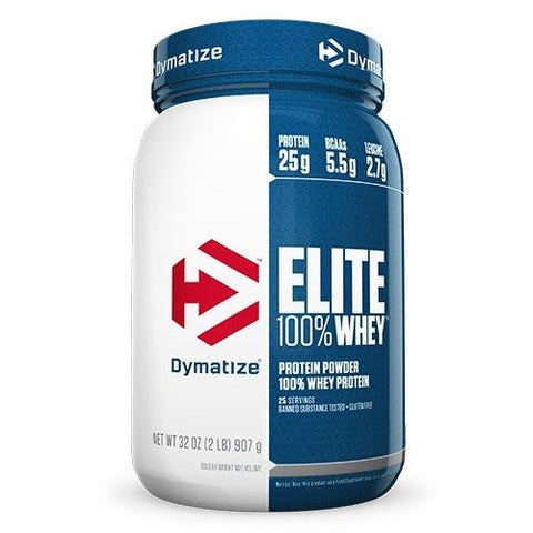 Dymatize ELITE 100% WHEY PROTEIN 2 lbs 26 Servings PICK FLAVOR