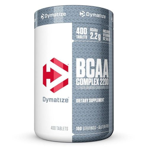 Dymatize Nutrition BCAA Complex 2200 Time-Released Amino Acid 400 Caplets