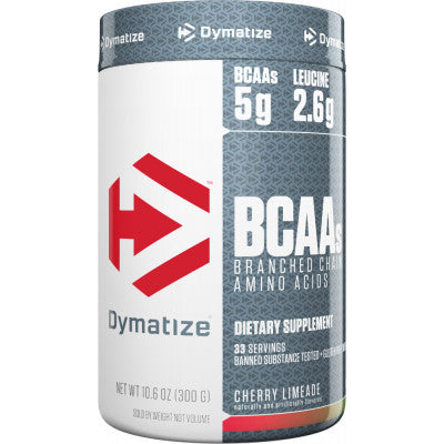 Dymatize BCAA Complex 5050 Branched Chain Amino Acids 30 Servings CHERRY LIMEADE