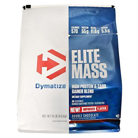 Dymatize Elite Mass High Protein Lean Muscle Gainer - 10 lbs PICK FLAVOR