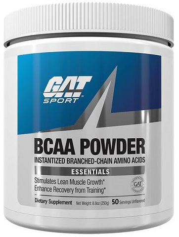 GAT BCAA Amino Acid Powder 50 Servings