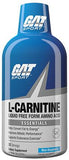GAT L-CARNITINE LIQUID Stimulant-Free Weight Loss Fat Burner 32 Servings