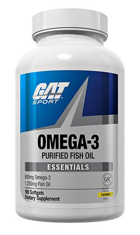 GAT OMEGA-3 Fish Oil 90 Softgels
