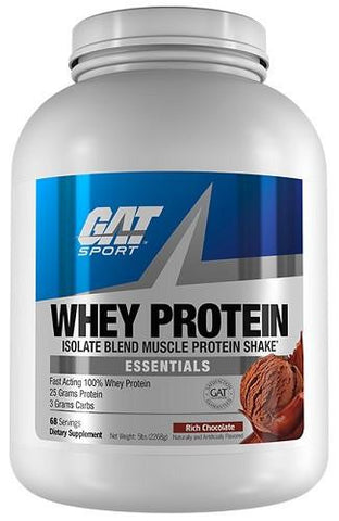 GAT Whey Protein Isolate Blend 68 Servings