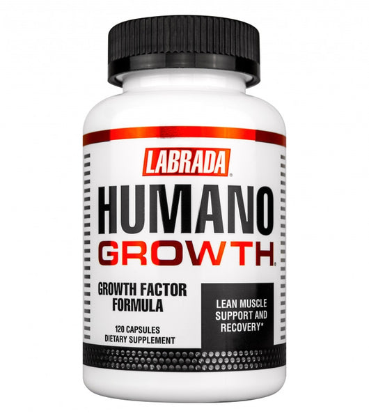 Labrada HUMANOGROWTH Testosterone Booster GH Speeds Recovery ANTI-AGING 120 caps