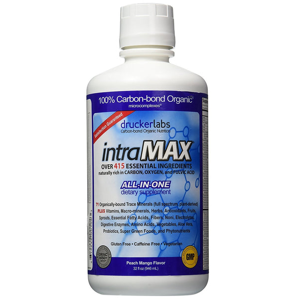 Drucker Labs IntraMAX Liquid Nutrition Multivitamin 32 oz Peach Mango