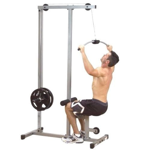 Body Solid Powerline LAT MACHINE High Low Pulley Gym Weight Exercise PLM180X