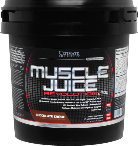 Ultimate Nutrition Muscle Juice Revolution 2600 Mass Gainer Protein - 11.1 lbs