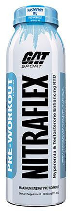 GAT NITRAFLEX RTD Pre-Workout Drink - 12 Bottles