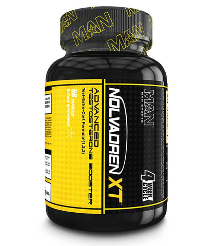 MAN Sports NOLVADREN XT Testosterone Booster Estrogen Blocker 56 Capsules
