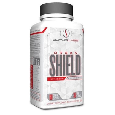 Purus Labs Organ Shield Protect & Restore - 60 capsules LIVER, PROSTATE, HEART