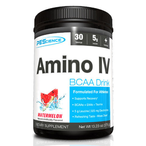 PES AMINO IV Amino Acid BCAA Intra-Workout Taurine Electrolytes 30 Servings