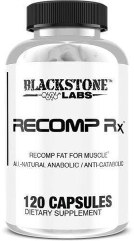 Blackstone Labs Recomp RX Anabolic Fat Burner Anti-Catabolic - 120 capsules
