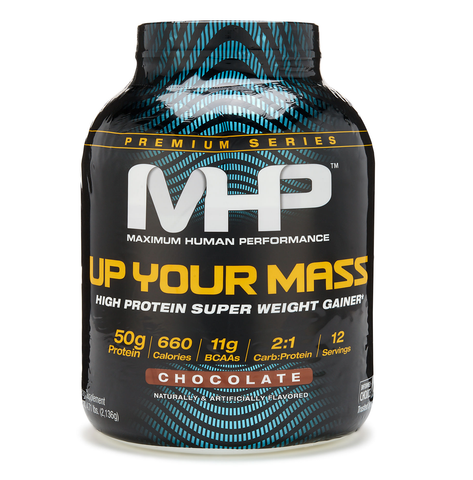 MHP UP YOUR MASS Sustained Release Protein Mass Gainer 5 lbs