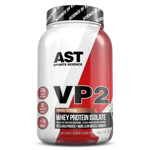 AST VP2 Whey Protein Isolate BUILD LEAN MUSCLE FAST 2 lbs
