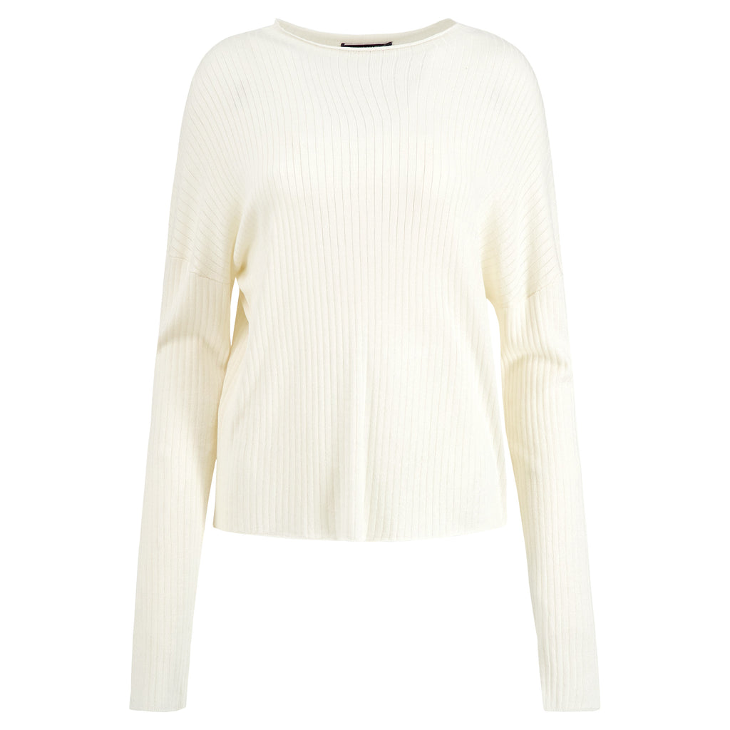 Silk Cashmere Mock neck Top