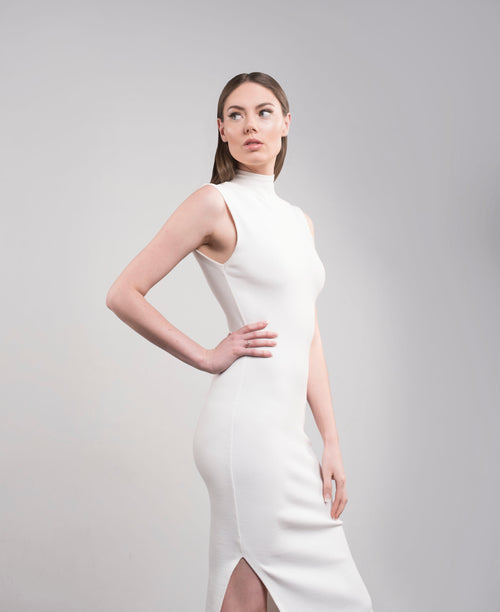 Bamboo Ribbed dress