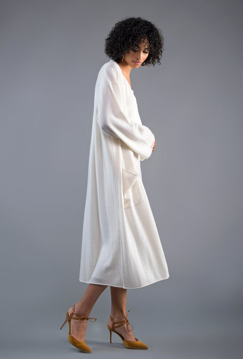 Cashmere Sweater Robe